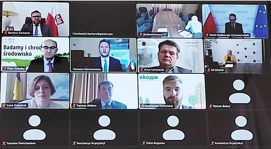 Польсько-українська співпраця для справедливого переходу - віртуальний круглий стіл з питань трансформації енергії