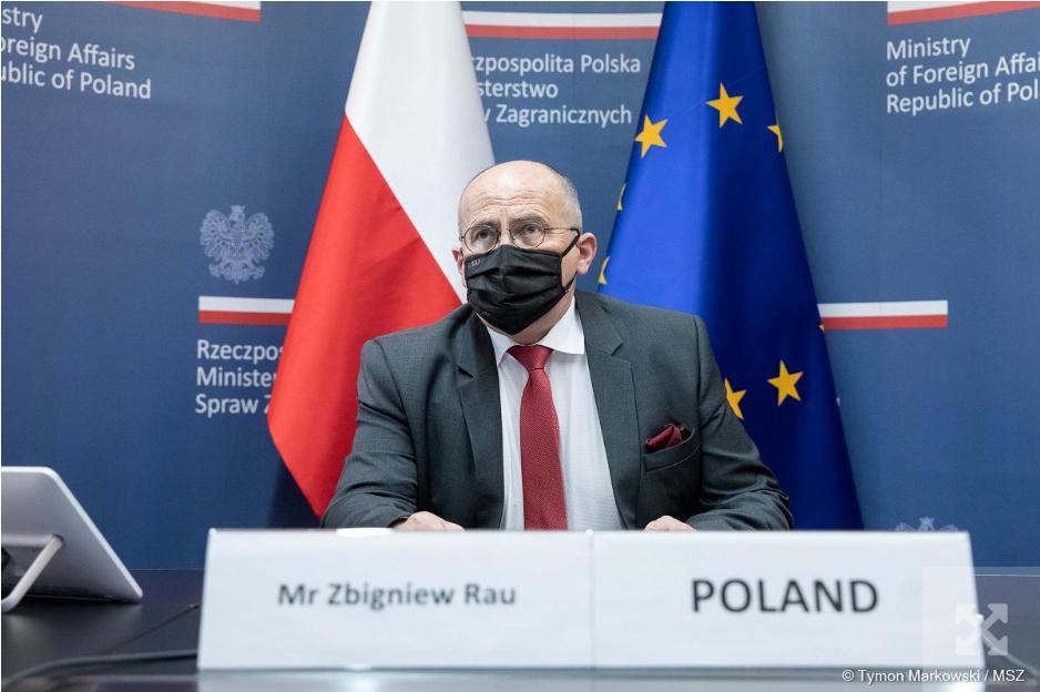 Керівники МЗС Польщі та Литви підтвердили рішучу позицію наших країн щодо подій за східним кордоном