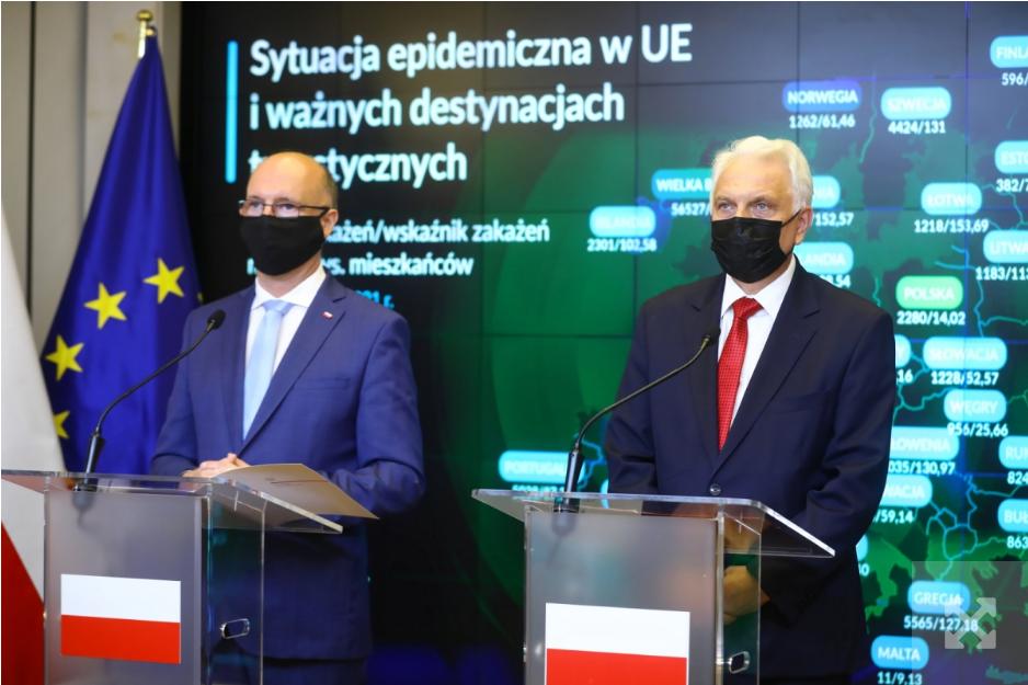 Польща вводить превентивні заходи через нові штами Covid-19