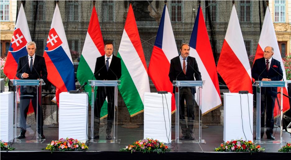 Відбулася перша зустріч міністрів закордонних справ Вишеградської групи під час головування Угорщини