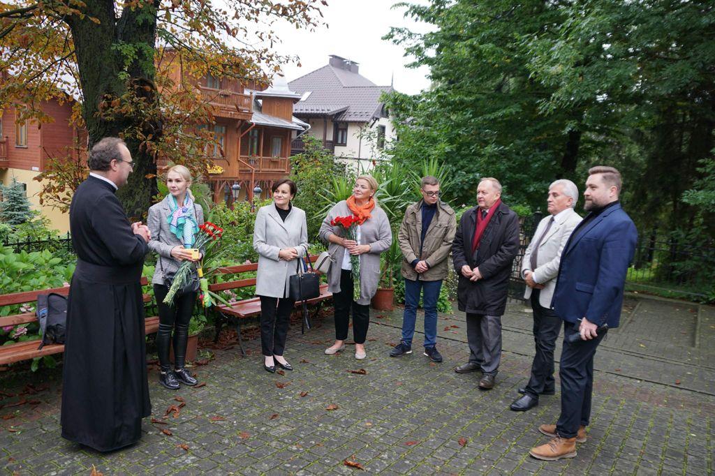 Uszanowanie pamięci Tadeusza Hołówki na Ukrainie