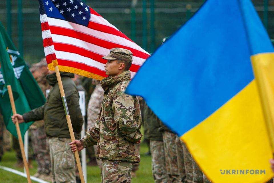 В Україні стартували міжнародні навчання Rapid Trident-2021