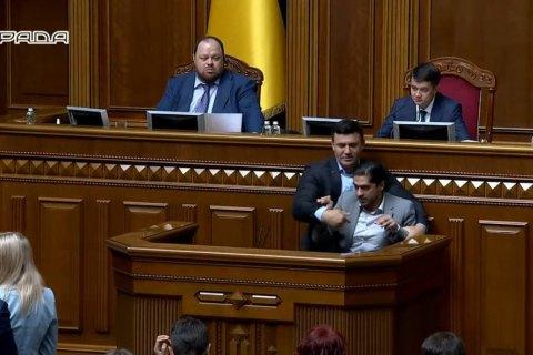 После драки: Тищенко и Лерос не каются за действия в Раде