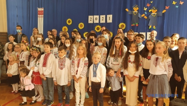 У Варшаві українські діти розпочали новий навчальний рік