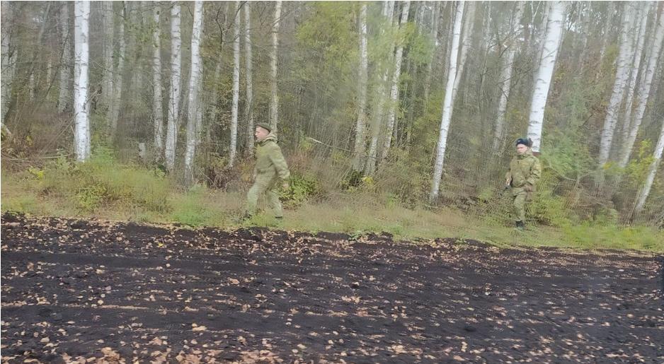 Польські прикордонники помітили на кордоні білоруських солдатів