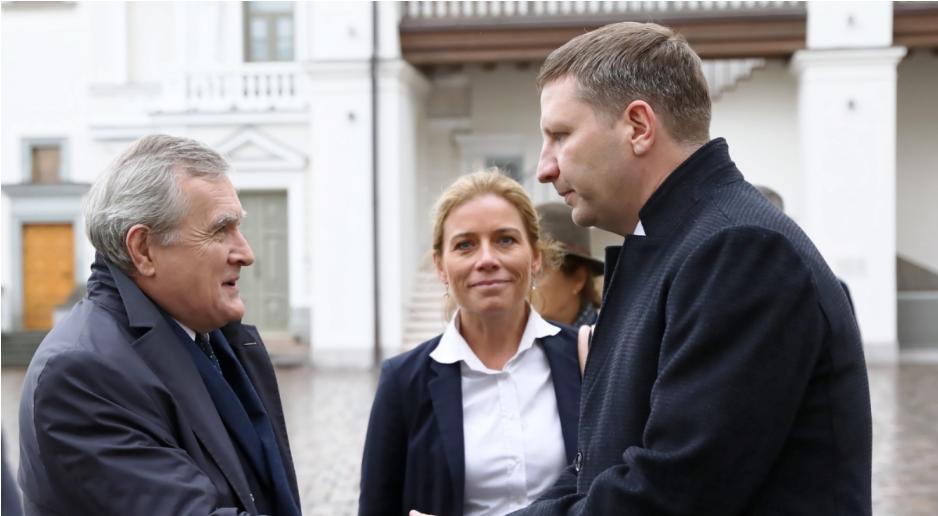 Віце-прем'єр Пьотр Ґлінський перебуває з робочим візитом у Литві