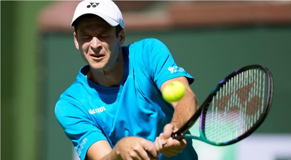 Tennis: Poland's Hurkacz into quarterfinals at Indian Wells